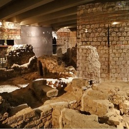 Archaeological crypt Notre Dame de Paris